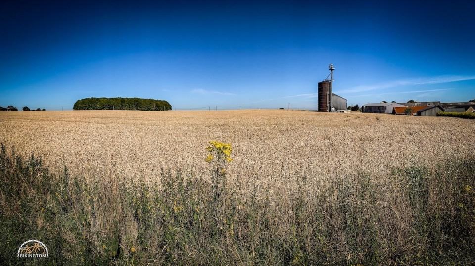 Bretagne,Radtouren,Fahrrad,Landwirtschaft