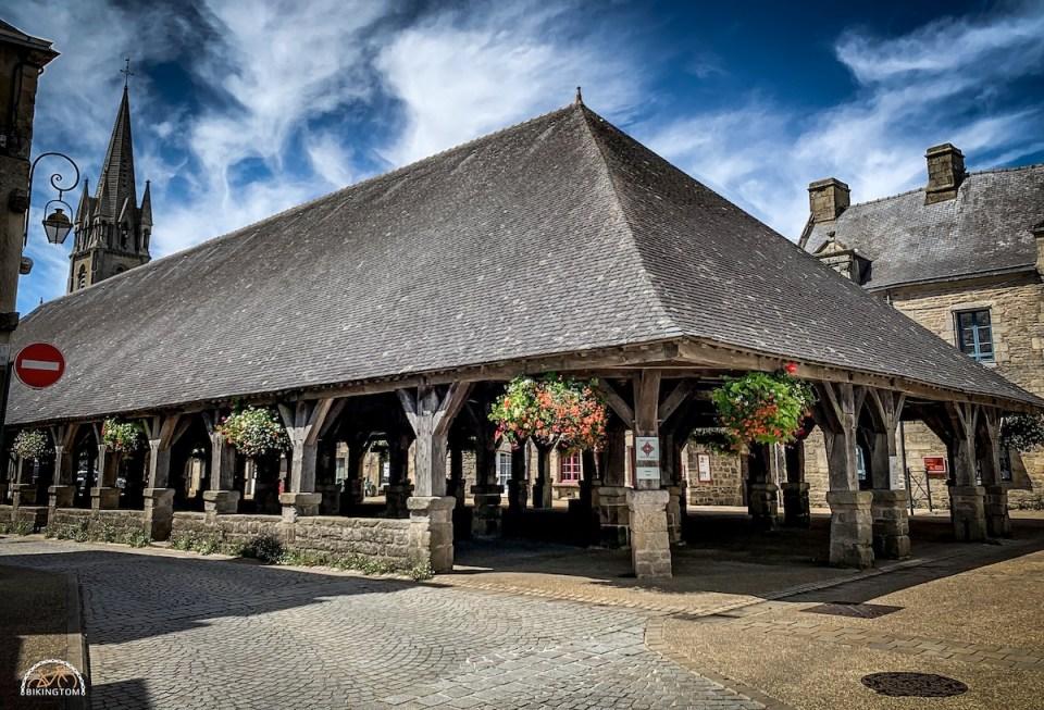 Bretagne,Radtouren,Fahrrad,Halles du XVIème siècle