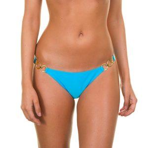 Bikini Unterteil Blau mit Ringe - Blue Trio