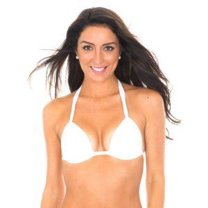 Bikini Triangle Oberteil weiß - Branco Tri Fixo