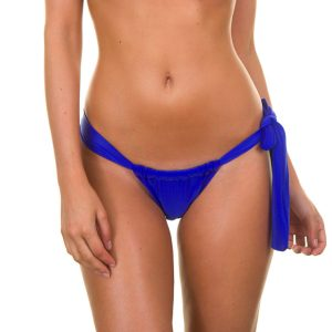 Brasilien Slip saphirblau, verstellbar - Zaffiro Lace
