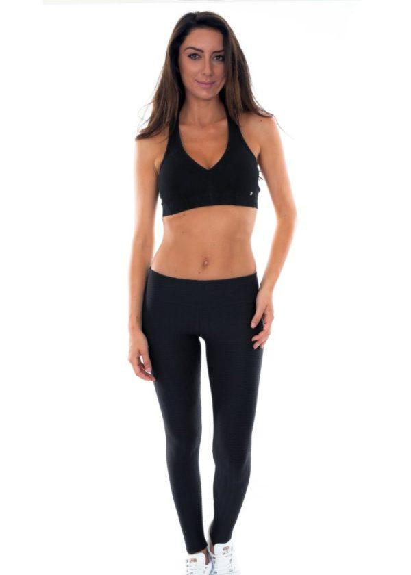 Fitness Leggings schwarz - Leg Fresh Preto