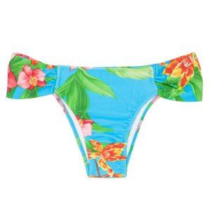 Blau geblümtes Bikini-Unterteil - Rio de Sol