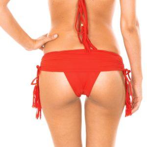 Brasil Bikini Baderock mit Pompons - Calcinha Ambra Jupe Urucum