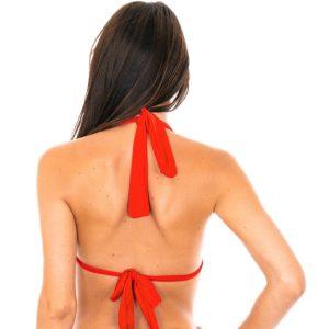 Sexy rotes Brasil Bikini Triangle Oberteil - Soutien Ambra Mel Urucum