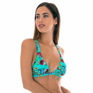 Triangel Top mit Nacken- und Kreuzträgern - Soutien Bloom Cortinao
