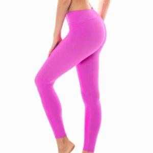Uni rosa Fitness Leggings - Rio de Sol