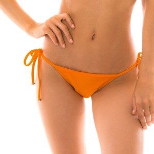 Brasil Bikinihöschen orange mit Accessoires - Bottom Itaparica Tri