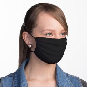 Schwarze Atemschutzmaske Lua Morena