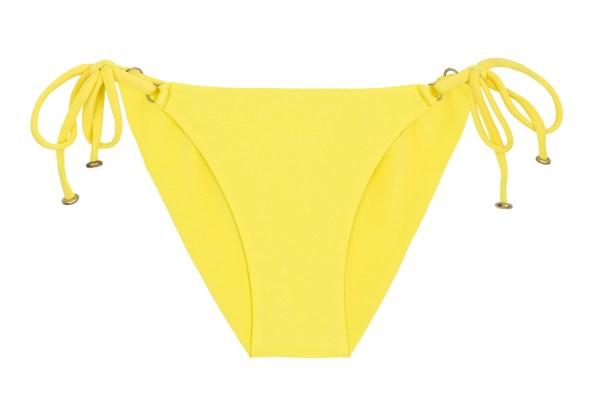 Scrunch Bikinihose zitronengelb - Bottom Strega Bra Comfort