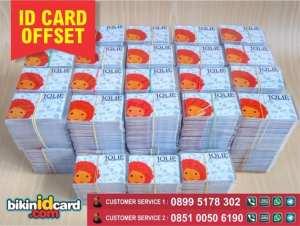 cetak id card offset