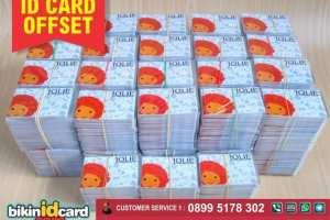 Cetak ID Card Offset Murah
