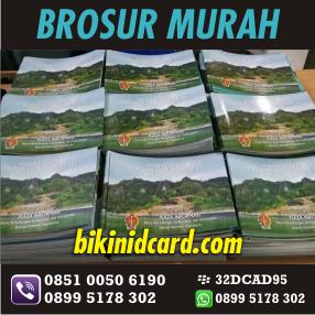 cetak brosur murah a5