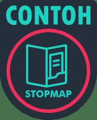 contoh stopmap