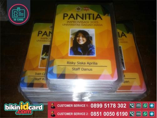 HARGA CETAK ID CARD PANITIA