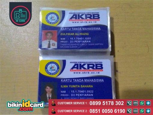 Harga Cetak Id Card Mahasiswa Murah - Contoh id card mahasiswa