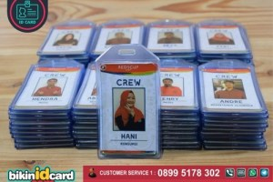 Harga Cetak ID Card Crew Murah