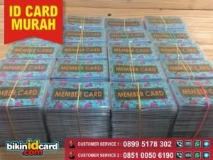 cetak member card bergaransi