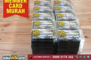 Jasa Cetak Member Card