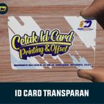 ID Card Transparan Jogja