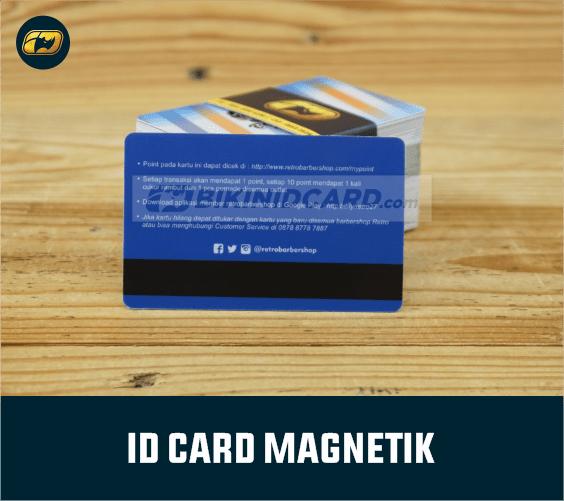 ID Card PVC magnetik