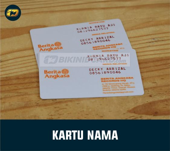 cetak business card