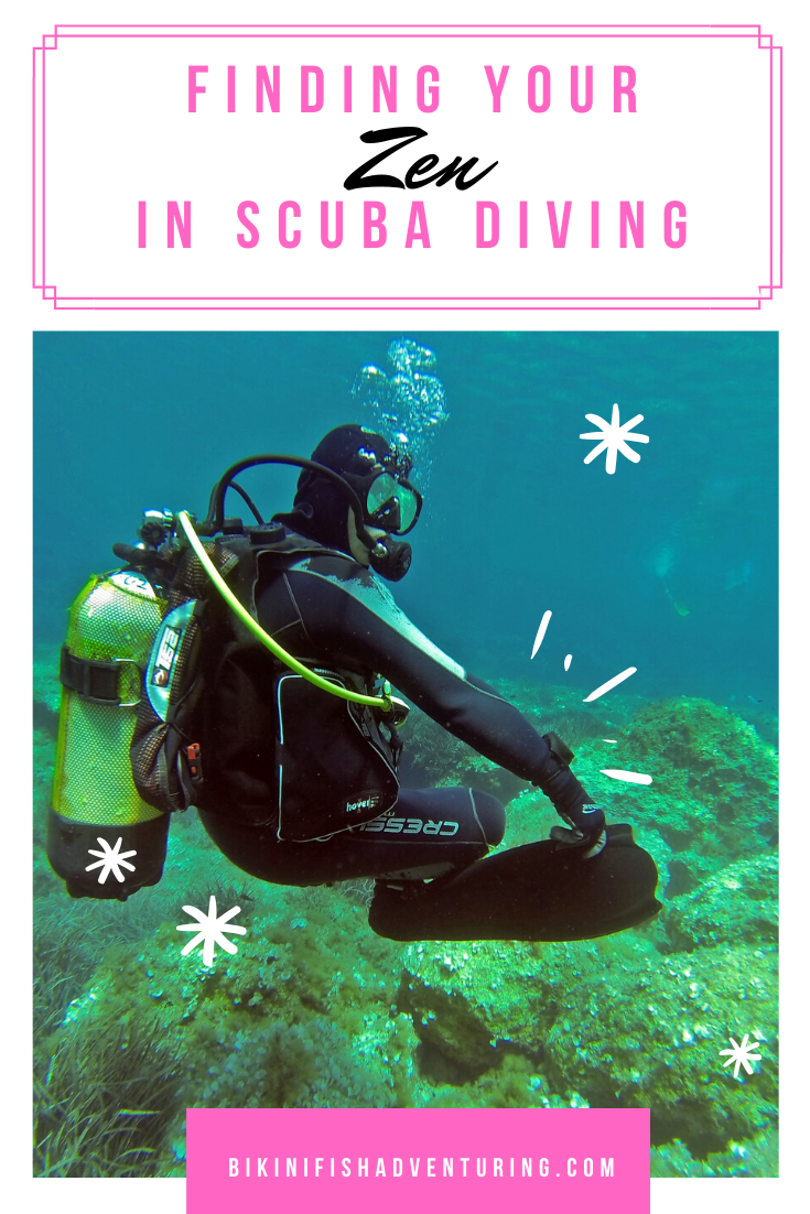 Finding your Zen in scuba Diving.