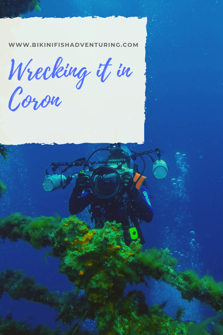 Wrecking it in Coron