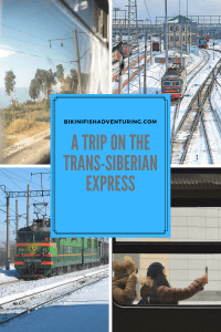 A trip on the Trans-Siberian Express