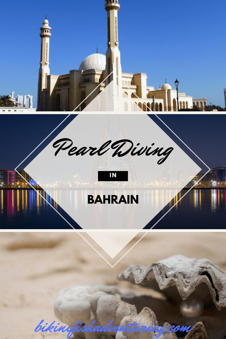 Pearl diving in Bahrain.