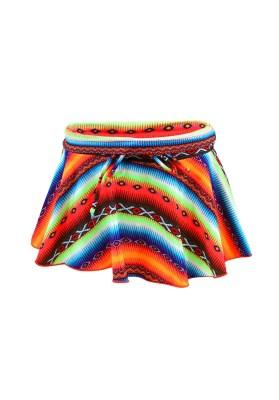 Jupe de plage Enfant Lolita Angels Salsa Acapulco Psycho Multicolore - Couleurs - MULTICOLORE