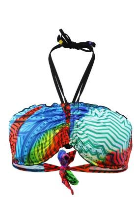 Maillot de bain Bandeau Val d'Azur Porto Multicolore - Couleurs - MULTICOLORE