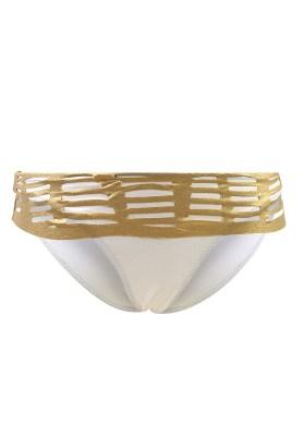 Maillot de bain Culotte Revers Val d'Azur Ouro Doré - Couleurs - BEIGE