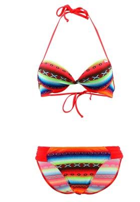 Maillot de bain Enfant Lolita Angels 2 Pièces Balconnet Playa Link Acapulco Psycho Multicolore - Couleurs - MULTICOLORE