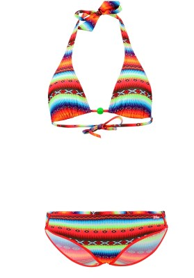 Maillot de bain Enfant Lolita Angels 2 Pièces Triangle Shorty Brett Acapulco Psycho Multicolore - Couleurs - MULTICOLORE