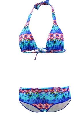 Maillot de bain Enfant Lolita Angels 2 Pièces Triangle Shorty Brett PamPam Multicolore - Couleurs - MULTICOLORE