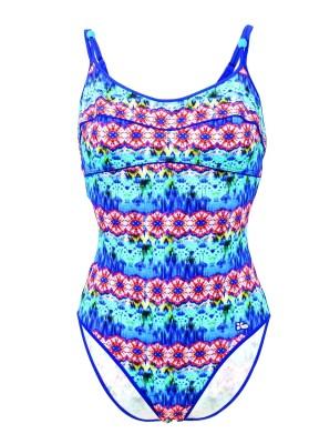 Maillot de bain Lolita Angels 1 Pièce Piping Jam PamPam Blu Multicolore - Couleurs - MULTICOLORE