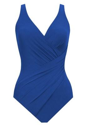 Maillot de bain Miraclesuit 1 Pièce Fuller Cups Bonnet B à F Oceanus Bleu Nuit - Couleurs - BLEU