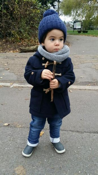 Zara Hooded Duffle Coat