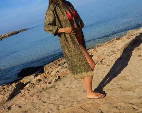 vintage sari shirt lisa taylor