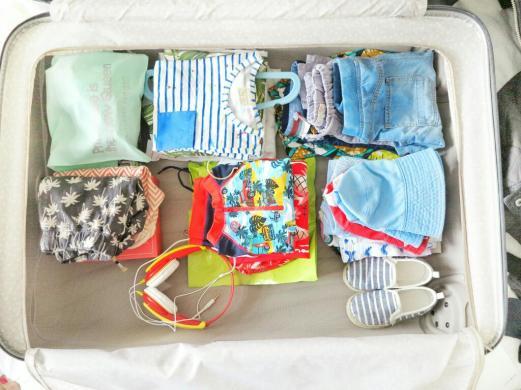 samsonite spinner - family luggage