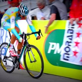 Astana rider Roman Kreuziger, Tour de Romandie 2012.