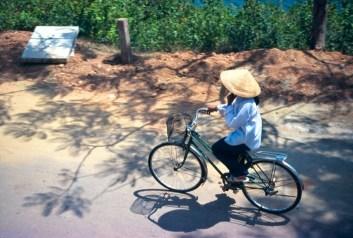 La femme à vélo