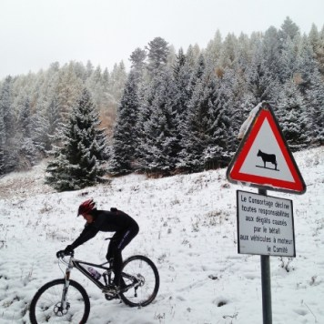 Bike à Ovronnaz.