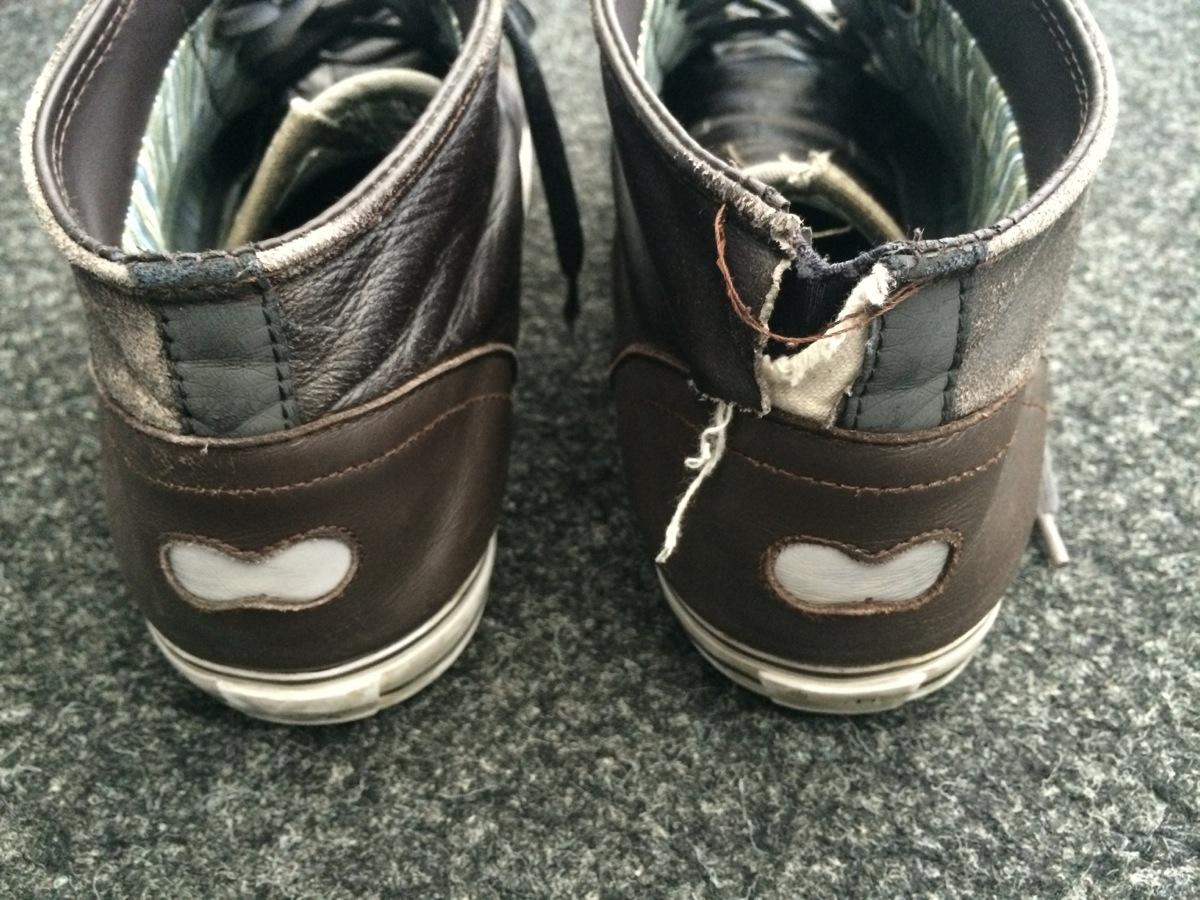 Chaussures DZR, quelle misère!