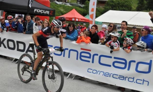Champion suisse de VTT marathon, Johann Tschopp avait «la patte»