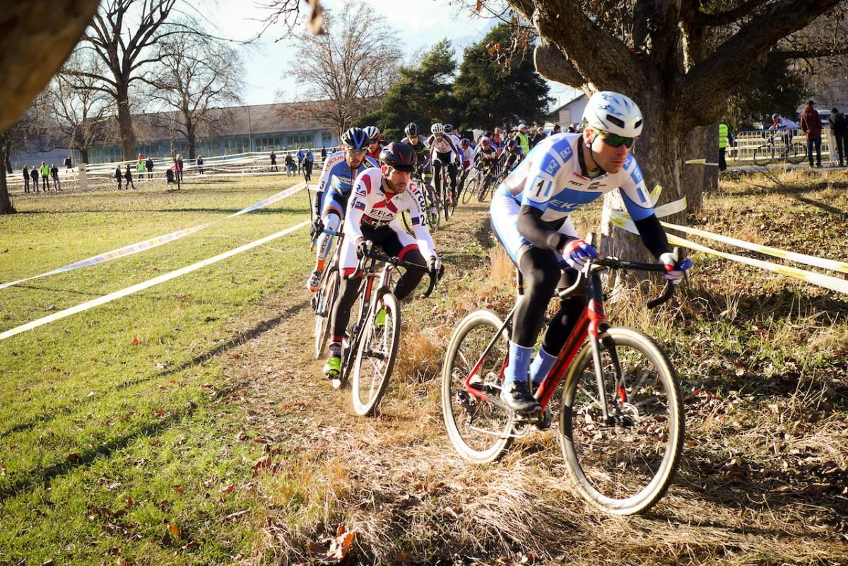 Jolanda Neff et les as du cyclocross suisse à Sion