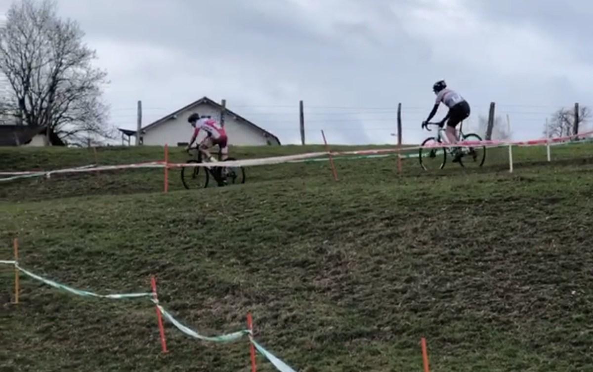 Retour au cyclocross, c'était sympa, mais pas les commissaires