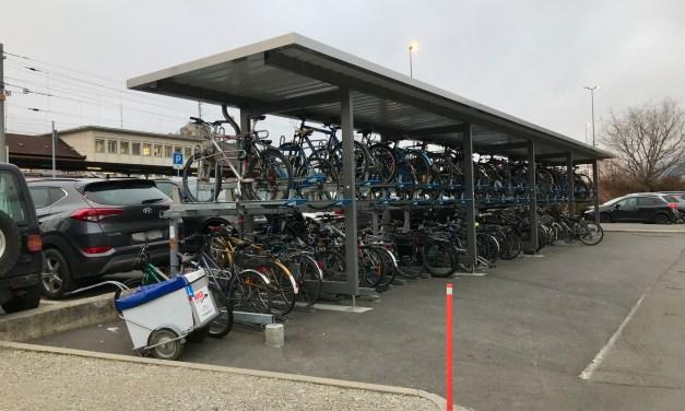 Septante vélos valent autant que huit autos