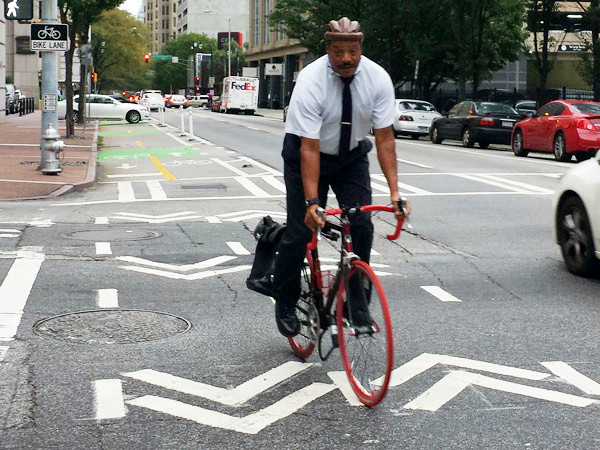 #1 US City For Biking In Office Clothes Is...